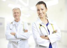doctor kvinnlign Arkivbild