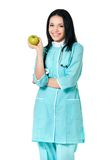 doctor kvinnlign Fotografering för Bildbyråer