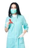 doctor kvinnlign Arkivfoto