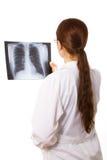 doctor kvinnlign Royaltyfria Bilder