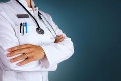 doctor kvinnlign royaltyfri fotografi