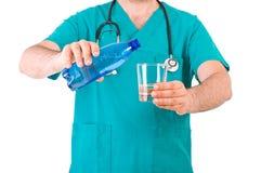 doctor läkarundersökningen Fotografering för Bildbyråer