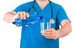 doctor läkarundersökningen Arkivfoton