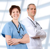 Doctor in labcoat Royalty Free Stock Image