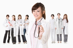 Doctor listen Royalty Free Stock Images