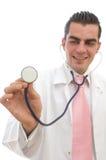 Doctor listening royalty free stock photos