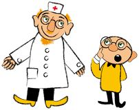 Doctor and little patient Stock Photography