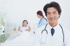 Doctor looking at the camera Royalty Free Stock Image