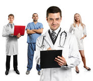 Doctor Man With Stethoscope Stock Image