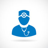 Doctor man vector icon Royalty Free Stock Photo