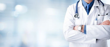 Free Doctor Man With Stethoscope Royalty Free Stock Image - 84232406