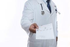 doctor manlign Royaltyfria Foton
