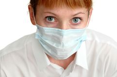 Doctor in mask Royalty Free Stock Photos