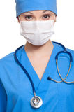 Doctor in mask Royalty Free Stock Image