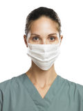 Doctor with mask. Doctor or Nurse with a protective mask Stock Photos