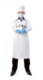 Doctor in a mask Stock Photography
