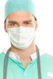 Doctor with mask Stock Photos