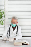 Doctor with mask Stock Photo