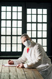 Doctor in the mask Stock Photos