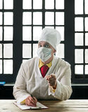 Doctor in the mask Royalty Free Stock Images