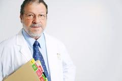 Doctor mayor Imágenes de archivo libres de regalías