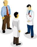 Doctor and Medical Isometric Stock Photos