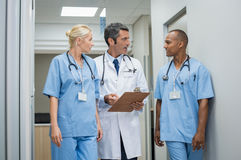 Doctor and medical staff Stock Photos