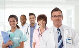 Doctor and medical team Royalty Free Stock Images