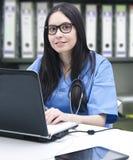 Doctor in medicine Stock Image