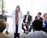 Doctor Meeting Teamwork Diagnosis Healthcare Concept Stock Photo