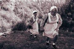 Doctor militar Fotos de archivo libres de regalías