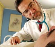 doctor mitt Arkivbild