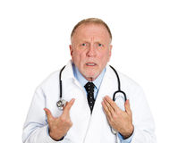 Doctor, is it my fault? Royalty Free Stock Photography