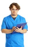 Doctor with notepad Stock Photos