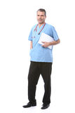 Doctor with a notepad Stock Image