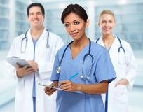 Doctor nurse group Stock Photography