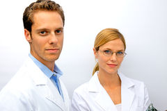 Doctor Nurse Team Stock Photography