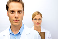 Doctor Nurse Team Royalty Free Stock Photos
