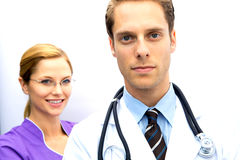 Doctor Nurse Team Royalty Free Stock Photography