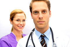 Doctor Nurse Team Royalty Free Stock Image