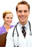 Doctor Nurse Team Royalty Free Stock Images