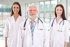 Doctor with  nurses Royalty Free Stock Images