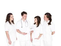 Doctor and Nurses Royalty Free Stock Photos