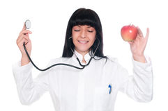 Doctor Nutritionist Royalty Free Stock Photo