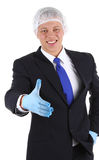 Doctor offering handshake Royalty Free Stock Photography