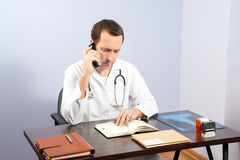 Doctor office Royalty Free Stock Photo