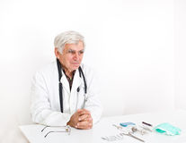 Doctor in the office Stock Photography