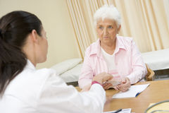 doctor office s woman Στοκ Εικόνες