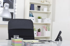 Doctor office table desk Royalty Free Stock Images