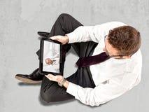 Doctor online Stock Photos